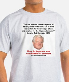 Ted Kennedy's Equal Justice? Ash Grey T-Shirt