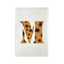 The Letter 'M' Rectangle Magnet