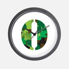 The Letter 'O' Wall Clock