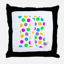 The Letter 'R' Throw Pillow