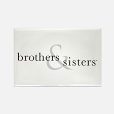 Brothers & Sisters Rectangle Magnet