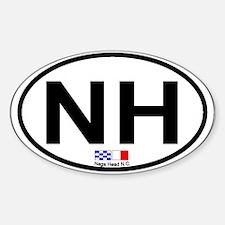 Nags Head NC - Oval Design Decal