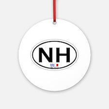 Nags Head NC - Oval Design Ornament (Round)