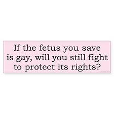 fetusBS Bumper Bumper Sticker