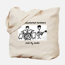 'schwartzman brothers rock my socks' Tote Bag