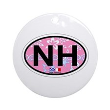 Nags Head NC - Oval Design Ornament (Round)