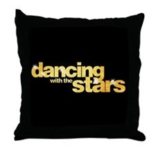 DWTS Logo Throw Pillow