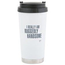 Ruggedly Handsome Travel Coffee Mug