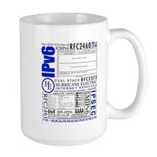 The Obviously Large IPv6 Mug