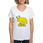 Beer Women's V-Neck T-Shirt