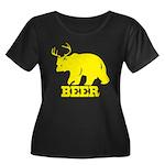 Beer Women's Plus Size Scoop Neck Dark T-Shirt
