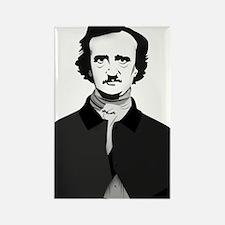 Edgar Allan Poe Rectangle Magnet