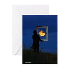 Moon Games Greeting Cards (Pk of 20)