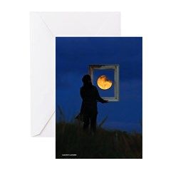 Moon Games Greeting Cards (Pk of 10)