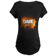 Dare. Daniel 9:23 (Orange) T-Shirt