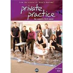 Private Practice: The Complete Third Season DVD