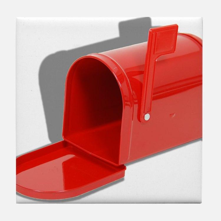 Mailbox Open Tile Coaster