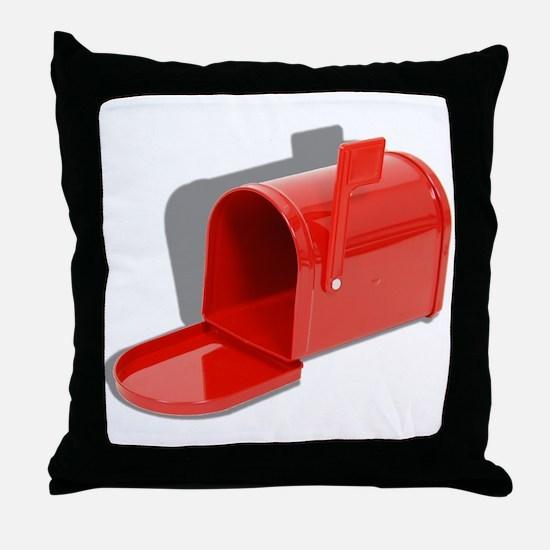 Mailbox Open Throw Pillow