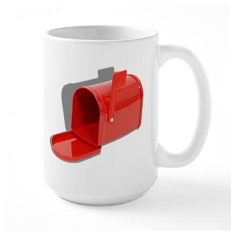 Mailbox Open Large Mug