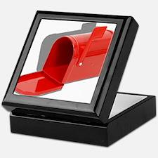 Mailbox Open Keepsake Box
