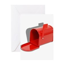 Mailbox Open Greeting Card