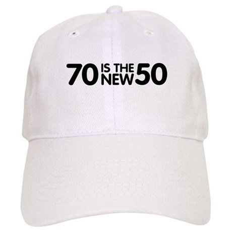 70 is the new 50 Cap