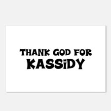 Thank God For Kassidy Postcards (Package of 8)