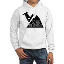 Go Big Snowboarder Hoodie