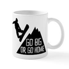 Go Big Snowboarder Mug