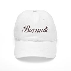 Vintage Burundi Baseball Cap