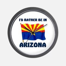 VISIT ARIZONA Wall Clock