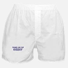 Thank God For Kassidy Boxer Shorts