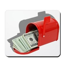 Money In Mail Mousepad