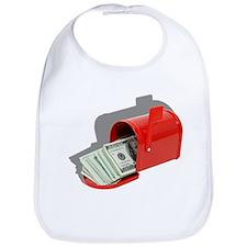 Money In Mail Bib