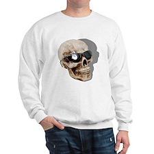 Optical Skull Sweatshirt