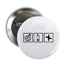 "Geocaching 2.25"" Button"