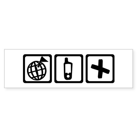 Geocaching Sticker (Bumper)