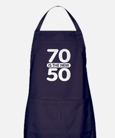 70 is the new 50 Apron (dark)
