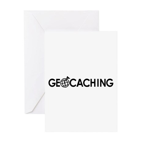 Geocaching Greeting Card