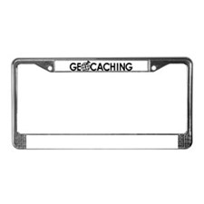 Geocaching License Plate Frame