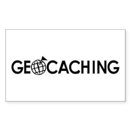 Geocaching Sticker (Rectangle)