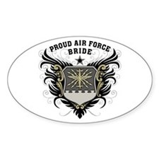 Proud Air Force Bride Decal