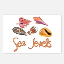 Sea Jewels Postcards (Package of 8)