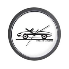 Alfa Romeo Spider Duetto Wall Clock