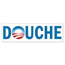 Obama - Douche Bumper Sticker
