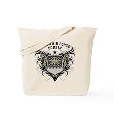 Proud Air Force Cousin Tote Bag
