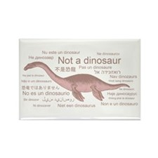 Plesiosaur (not a dinosaur) Rectangle Magnet