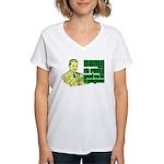 Good To Be A Gangster Women's V-Neck T-Shirt