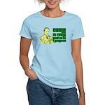 Good To Be A Gangster Women's Light T-Shirt