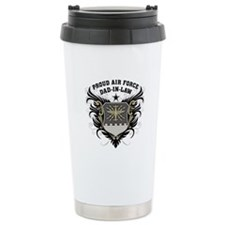 Proud Air Force Dad-in-law Travel Mug